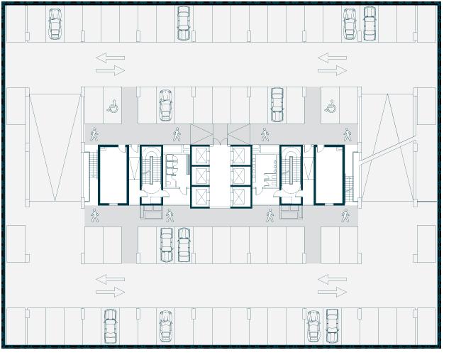 Typical Car Park Floor Plan